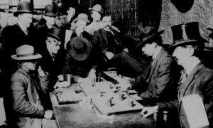 Originio del poker
