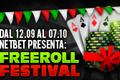 Promozione Freeroll Festival su NetBet